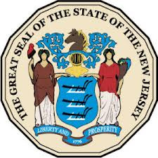 This picture is a picture of the official new jersey state seal